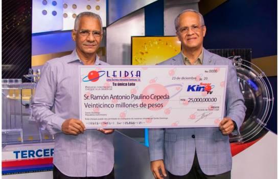 Ingeniero civil gana RD$25 millones con Super Kino TV