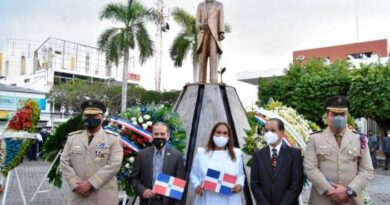 Comisión Permanente de Efemérides Patrias celebra el 208 aniversario del natalicio de Juan Pablo Duarte