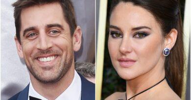 ¿Aaron Rodgers está comprometido con Shailene Woodley?El mariscal de campo agradece a 'prometida' en el discurso de aceptación de MVP