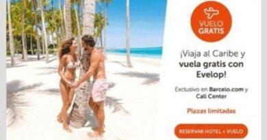 Barceló oferta vuelos gratis al Caribe con motivo de San Valentín