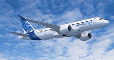 Airbus aumenta el radio de vuelo del A220-300