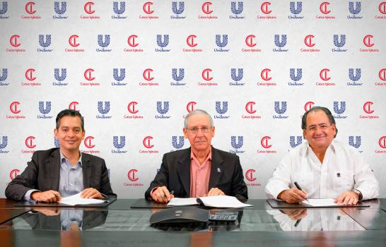 Unilever y César Iglesias unen fuerzas para desarrollo de negocios en RD