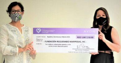 Compañía Avon entrega donativos a fundaciones contra violencia género