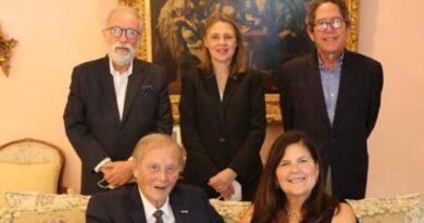 Cuerpo consular reconoce a Wilhelm Brouwer