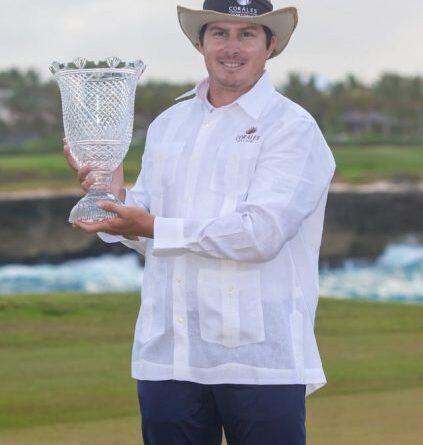 Joel Dahmen, el nuevo campeón del Corales Puntacana Championship 2021