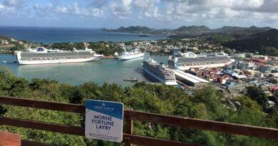 Caribe: Santa Lucía recibirá de nuevo al turismo de cruceros a partir de julio