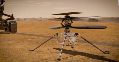 El helicóptero Ingenuity llevó una parte de la historia de los hermanos Wright a Marte