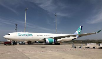 Iberojet: primer avión con la nueva librea