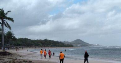 Prohíben acceso a playas de Puerto Plata por oleaje anormal