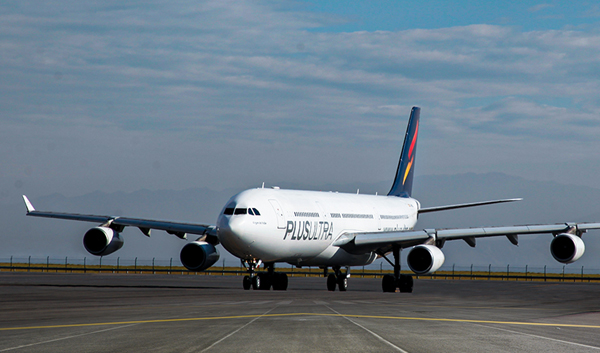 Plus Ultra ya tiene tres de los aviones de su flota operativos