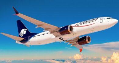 Aeroméxico transporta más de un millón 100 mil pasajeros en marzo