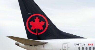 Air Canada reembolsará a todos los clientes con vuelos cancelados