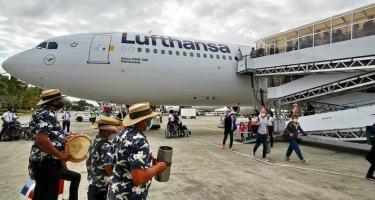 Lufthansa reactiva turismo alemán con su retorno a Punta Cana