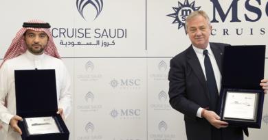 MSC Cruceros firma acuerdo con Cruise Saudi para el lanzamiento de cruceros por el Mar Rojo