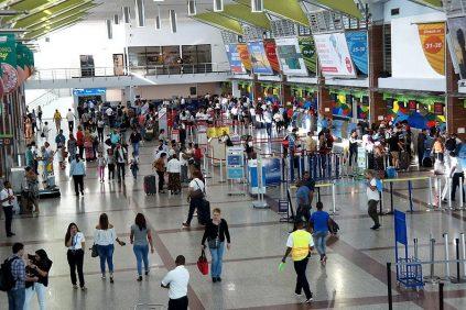 Aerodom: aerolíneas muestran dinamismo con 90% de sus asientos ocupados