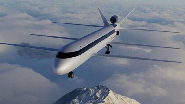 Revolución en los aviones: tres alas para volar sin apenas combustible