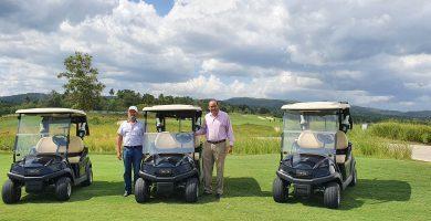 Vistas Golf & Country Club recibe nuevo modelo de carros Club Car Tempo Golf Lithium