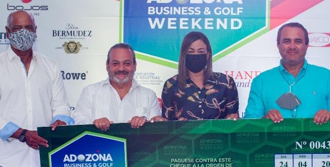 Golf de Adozona recauda fondos para servicio