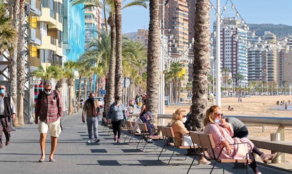 Benidorm: la mitad de sus hoteles estarán abiertos el 15 de junio