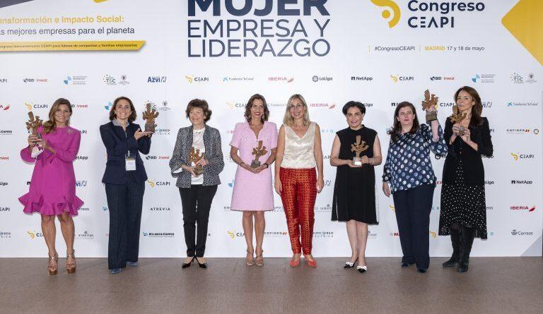 Reconocen a Paola Rainieri con el premio: Mujer, Empresa y Liderazgo en Iberoamérica