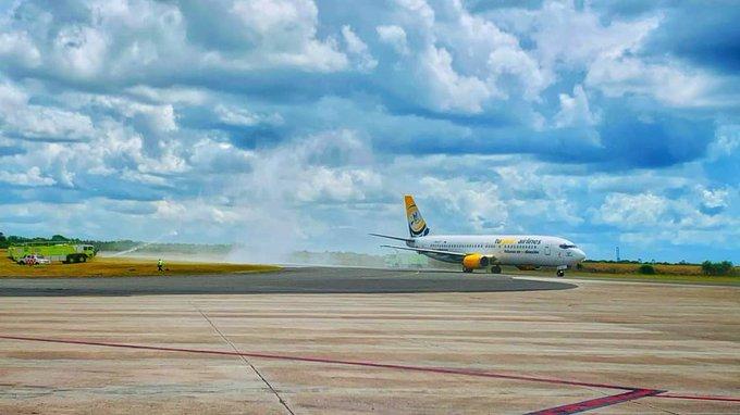 Turpial retoma el Valencia-Santo Domingo con tres vuelos semanales