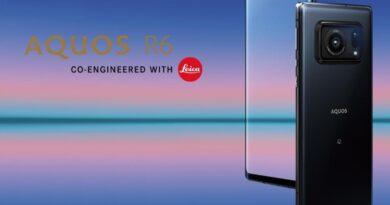 Sharp Aquos R6, ¡móvil con pantalla 240 Hz y cámara de 1 pulgada!