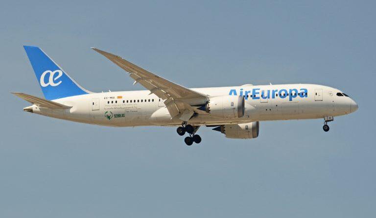 Air Europa retoma 20 rutas a Latinoamérica de las 23 que tenía