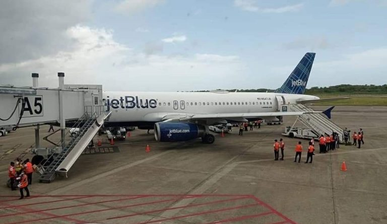 JetBlue pone en marcha vuelo directo entre Nueva Jersey y Puerto Plata