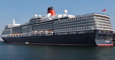 Cunard retrasa zarpe del Queen Elizabeth desde Southampton por Covid-19 en tripulantes