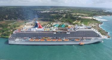 Carnival retorna a La Romana con 2,650 cruceristas a bordo