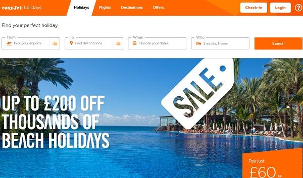 Easyjet Holidays lanza más paquetes hacia España y otros destinos ámbar