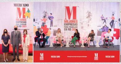 Revista Mercado destaca a las 100 mejores empresas para trabajar en RD 2021