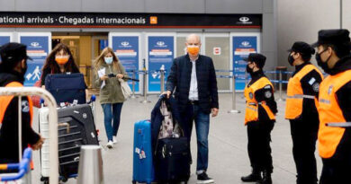 Argentina aumenta cupo de ingreso aéreo a 1.700 pasajeros por día