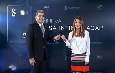 Asociación Cibao y Visa presentan tarjeta Infinite