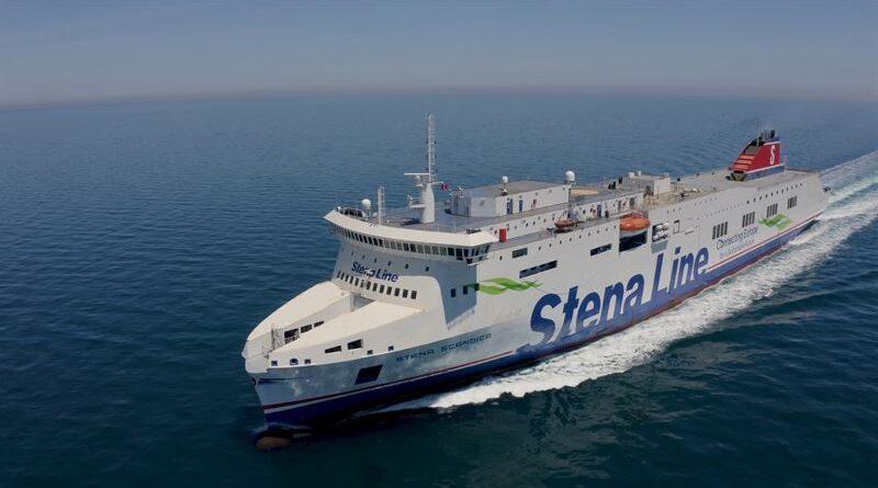 Stena Line: Nuevo ferry Stena Scandica completa su viaje al Puerto de Nynäshamn
