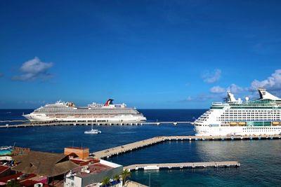 Cozumel celebra llegada de nueve cruceros esta semana