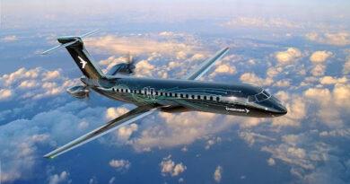 Embraer presenta un nuevo avión con hélices en la cola