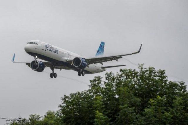 Hito de Jetblue: volará con un pasillo entre Nueva York y Londres