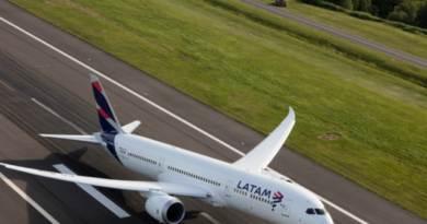Latam Airlines cae 62,5% en ingresos respecto al 2Q de 2019