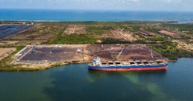 México: Puerto Lázaro Cárdenas amplía operaciones de carga de hierro