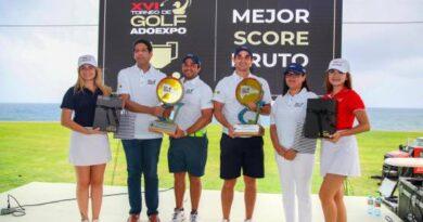 El XVI torneo golf ADOEXPO resalta compromiso social, juventud y sostenibilidad