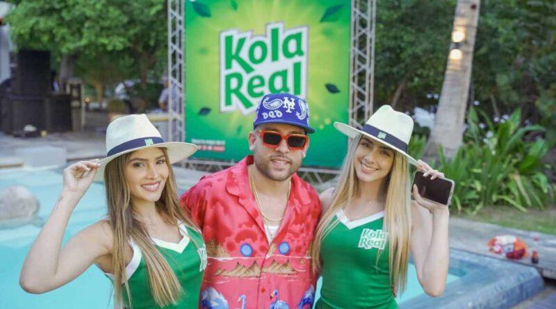 Kola Real cerró el verano con concierto Virtual de Mark B