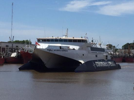 Colonia Express reinicia sus operaciones marítimas