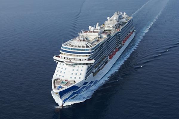 Puerto de Southampton despide al tercer crucero de Princess en retomar los servicios