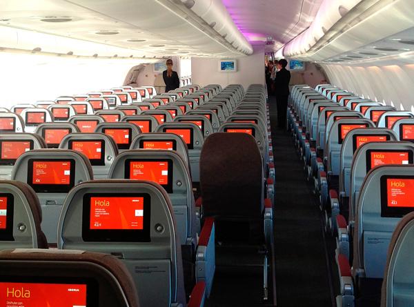 Iberia llega ya a dos vuelos diarios a México, su ruta más rentable