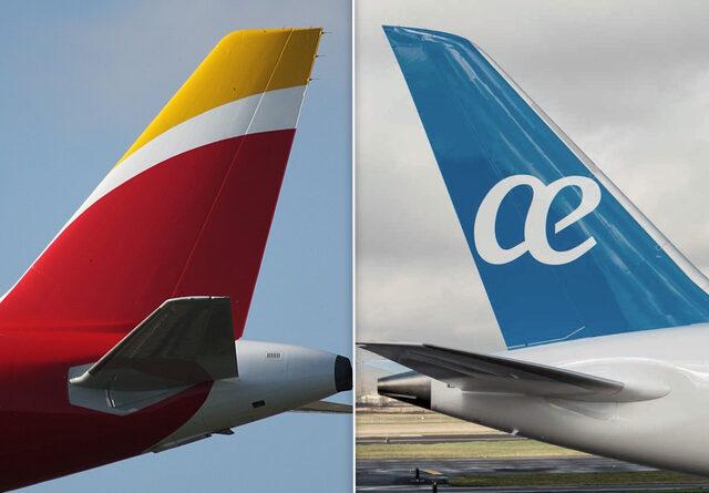 Iberia recupera el 75% de sus vuelos pero Air Europa ni la mitad