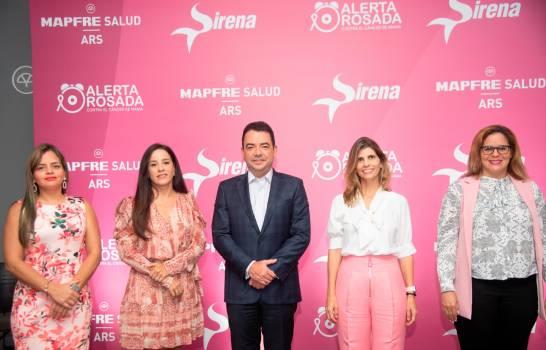 """MAPFRE Salud ARS y Sirena anuncian """"Alerta Rosada"""""""