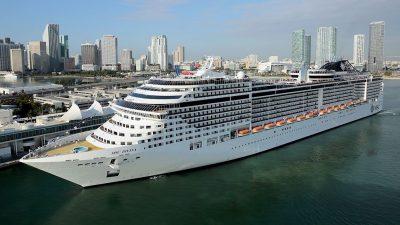Crucero MSC Divina reanuda sus operaciones