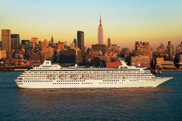 Crystal Cruises retoma sus navegaciones desde el Puerto de New York