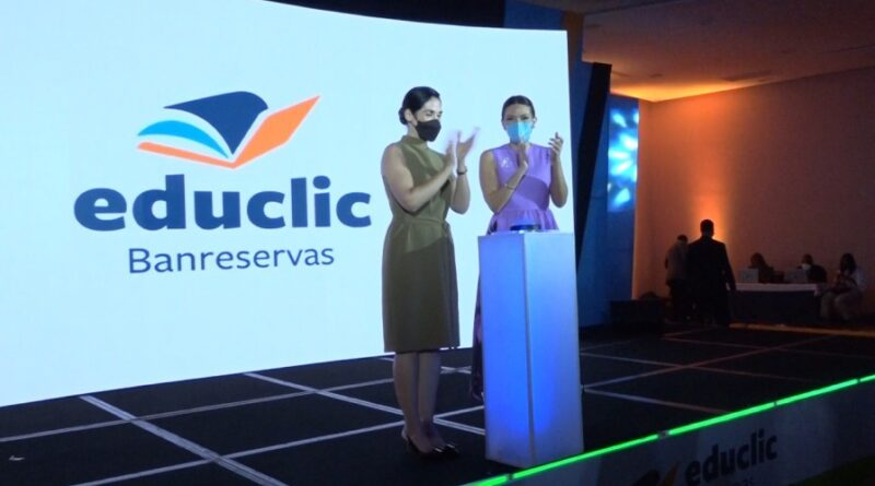 Voluntariado Banreservas presenta la plataforma digital educativa Educlic